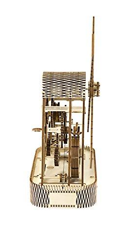 Puzzle 3d Meccanico Mill By Woodencity Modellino Di Progetti Per Adulti E Bambini 3d Modello Tecnico In Legno 0 1