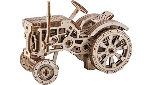 Puzzle 3d Meccanico Tractor By Woodencity Modellino Di Progetti Per Adulti E Bambini 3d Modello Tecnico In Legno 0 0