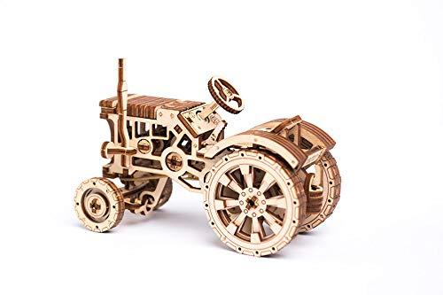 Puzzle 3d Meccanico Tractor By Woodencity Modellino Di Progetti Per Adulti E Bambini 3d Modello Tecnico In Legno 0 4