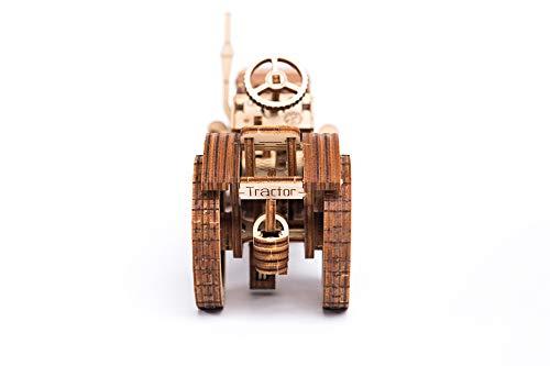 Puzzle 3d Meccanico Tractor By Woodencity Modellino Di Progetti Per Adulti E Bambini 3d Modello Tecnico In Legno 0 5
