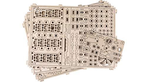 Puzzle 3d Meccanico V8 Engine By Woodencity Modellino Di Progetti Per Adulti E Bambini 3d Modello Tecnico In Legno 14 X 10 X 107 Cm 0 5