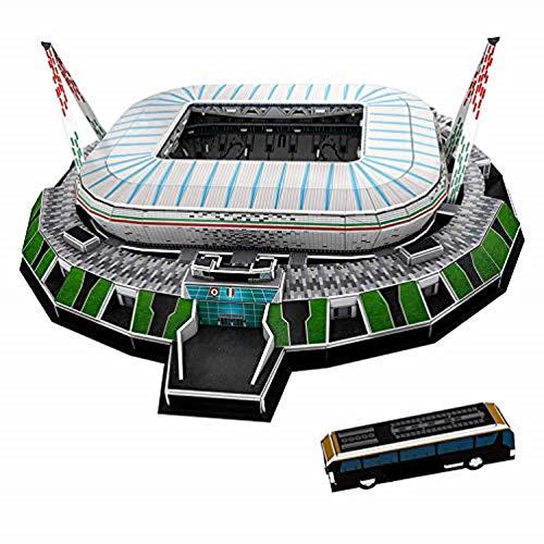 Puzzle 3d Stadio Stadium Jigsaw Bambini Giocattolo Puzzle Stai Cercando Il Regalo Perfetto Per Un Appassionato Di Calcio Juventus Stadium Jtih Multi Colored 0 0