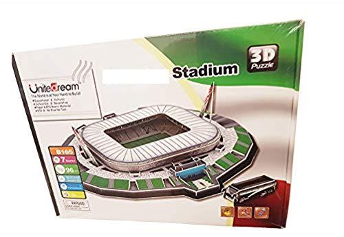 Puzzle 3d Stadio Stadium Jigsaw Bambini Giocattolo Puzzle Stai Cercando Il Regalo Perfetto Per Un Appassionato Di Calcio Juventus Stadium Jtih Multi Colored 0 4