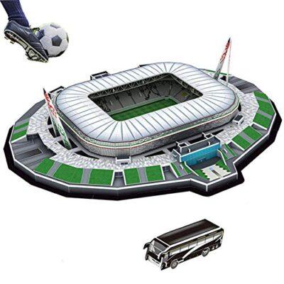 Puzzle 3d Stadio Stadium Jigsaw Bambini Giocattolo Puzzle Stai Cercando Il Regalo Perfetto Per Un Appassionato Di Calcio Juventus Stadium Jtih Multi Colored 0