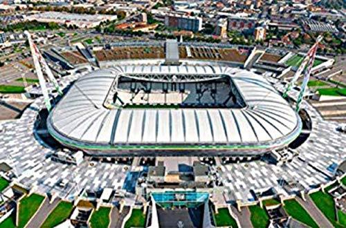 Puzzle 3d Stadio Stadium Jigsaw Bambini Giocattolo Puzzle Stai Cercando Il Regalo Perfetto Per Un Appassionato Di Calcio Juventus Stadium Jtih Multi Colored 0 5