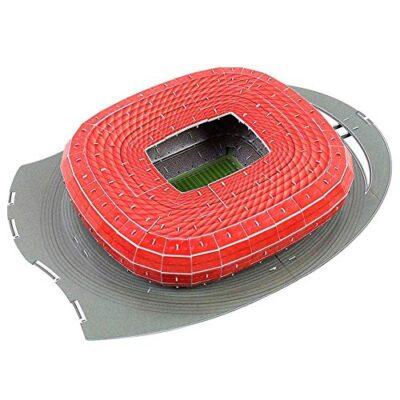 Puzzle Di Stadio Di Calcio 3d Diversi Paesi Campo Di Calcio Modello Mostra Top Model Divertimento Carta Fai Da Te Costruzione 3d Giocattolo Stadio Di Calcio Germania Monaco Di Baviera 0