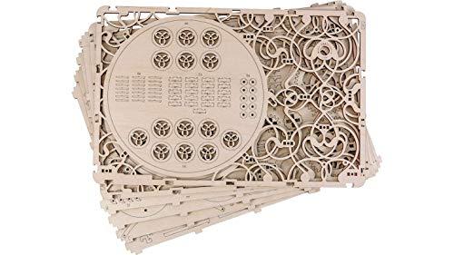 Quadro Meccanico Puzzle 3d Woodencity Mechanical Picture Modellino Di Progetti Per Adulti E Bambini 3d Modello Tecnico In Legno 347 X 231 X 62 Cm 0 1