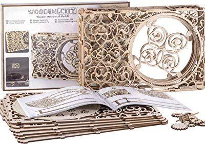 Quadro Meccanico Puzzle 3d Woodencity Mechanical Picture Modellino Di Progetti Per Adulti E Bambini 3d Modello Tecnico In Legno 347 X 231 X 62 Cm 0