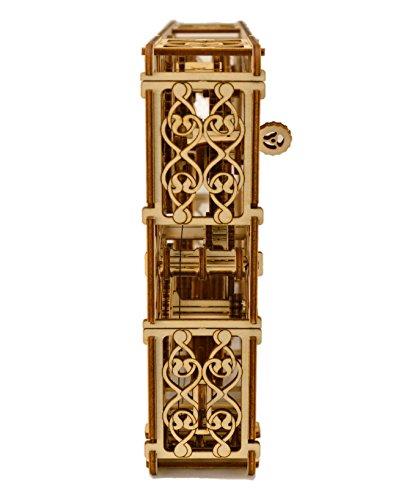 Quadro Meccanico Puzzle 3d Woodencity Mechanical Picture Modellino Di Progetti Per Adulti E Bambini 3d Modello Tecnico In Legno 347 X 231 X 62 Cm 0 5