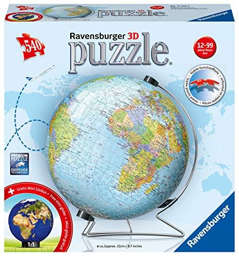 Ravensburger 00011159 Mappamondo In Lingua Tedesca Colore 00011159 0