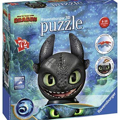 Ravensburger 11145 Dragons 3 Puzzle Ball 3d 0
