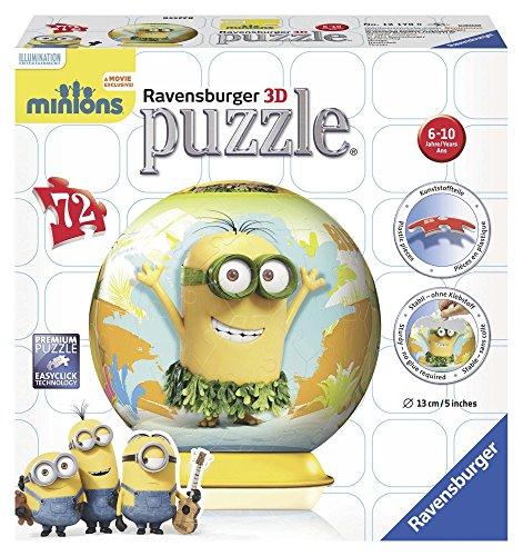 Ravensburger 12170 Minion Puzzle 3d Ball 0