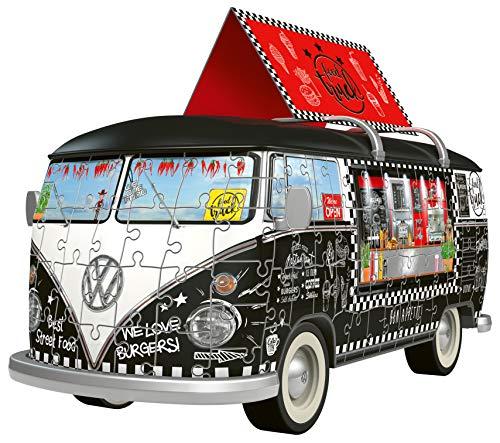 Ravensburger 12525 Camper Volkswagen Food Truck Puzzle 3d 0 0