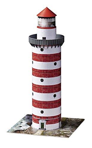 Ravensburger 12555 Puzzle 3d Soggetto Faro 216 Pezzi 0 2