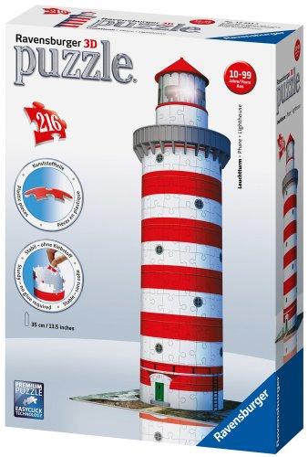 Ravensburger 12555 Puzzle 3d Soggetto Faro 216 Pezzi 0 3