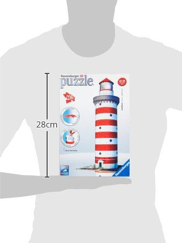 Ravensburger 12555 Puzzle 3d Soggetto Faro 216 Pezzi 0 5