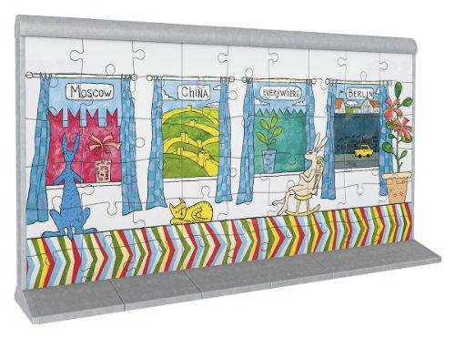 Ravensburger 12574 Puzzle 3d 108 Pz Soggetto Arte Sul Muro Di Berlino N 2 0 1