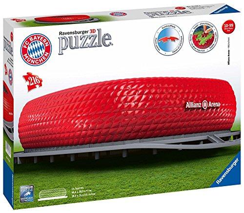 Ravensburger Allianz Arena Puzzle 3d Building Maxi 0 0