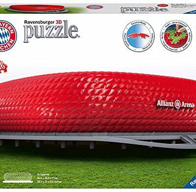 Ravensburger Allianz Arena Puzzle 3d Building Maxi 0