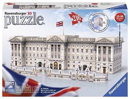 Ravensburger Buckingham Palace Puzzle 3d Multicolore 216 Pezzi 12524 0