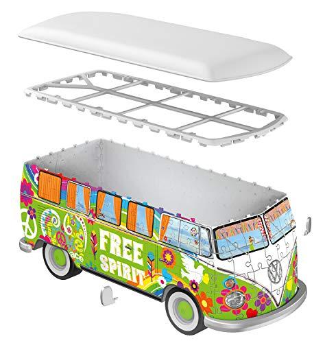 Ravensburger Camper Volkswagen Hippie Puzzle 3d Multicolore 30 X 14 X15 Cm 12532 0 3