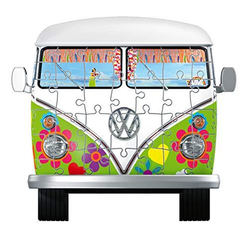 Ravensburger Camper Volkswagen Hippie Puzzle 3d Multicolore 30 X 14 X15 Cm 12532 0 4