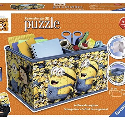 Ravensburger Cattivissimo Me 3 Girly Girl Edition Puzzle 3d Porta Oggetti 0