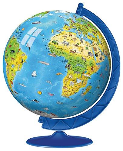 Ravensburger Children S World Globe Puzzle 3d 180 Pezzi 0 0