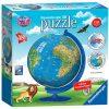 Ravensburger Children S World Globe Puzzle 3d 180 Pezzi 0