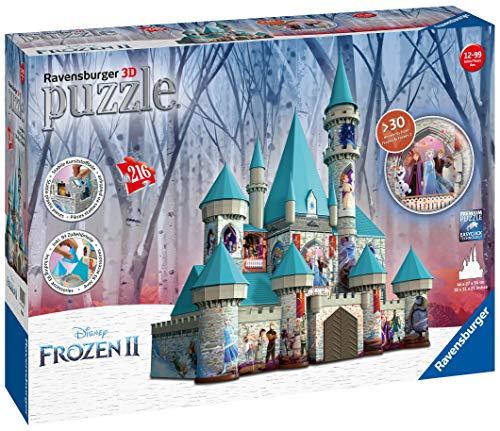 Ravensburger Frozen Ice Castle 3d Puzzle Multicolore 11156 0 5