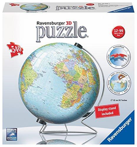 Ravensburger Globo 3d Puzzle Multicolore 540 Pezzi 12436 0 1