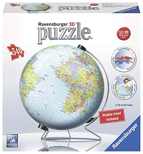 Ravensburger Globo 3d Puzzle Multicolore 540 Pezzi 12436 0