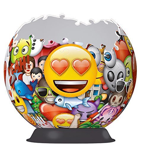 Ravensburger Italy Ball Emoji Puzzle 3d Multicolore 72 Pezzi 12198 0 0
