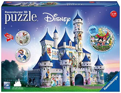 Ravensburger Italy Castello Disney Puzzle 3d 12587 0 1
