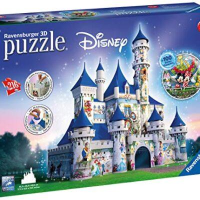 Ravensburger Italy Castello Disney Puzzle 3d 12587 0
