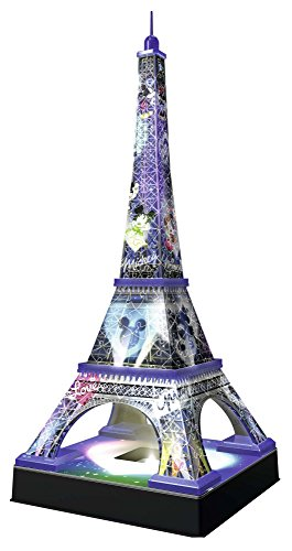 Ravensburger Italy Disney Classics Tour Eiffel Puzzle 3d Building Night Edition 12520 0 0