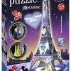 Ravensburger Italy Disney Classics Tour Eiffel Puzzle 3d Building Night Edition 12520 0 1
