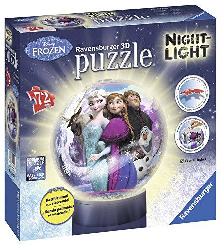 Ravensburger Italy Disney Frozen Puzzle 3d Lampada Notturna 12190 0