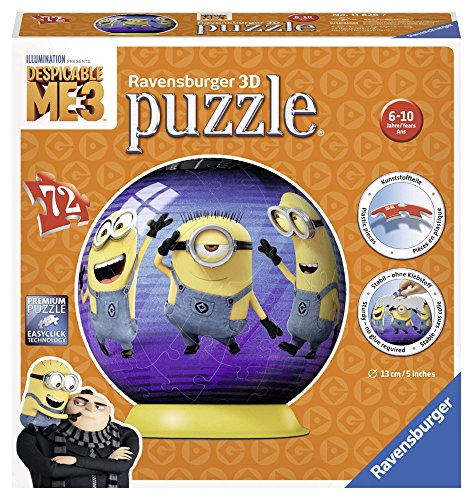 Ravensburger Italy Minions Puzzle 3d 72 Pezzi 11826 0