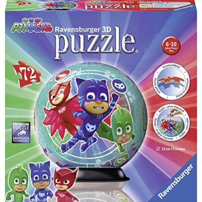 Ravensburger Italy Pj Masks B 3d Puzzleball 11797 0