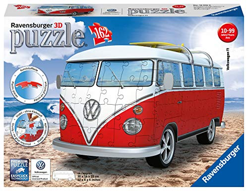 Ravensburger Italy Puzzle 3d Camper Volkswagen T1 12516 6 0