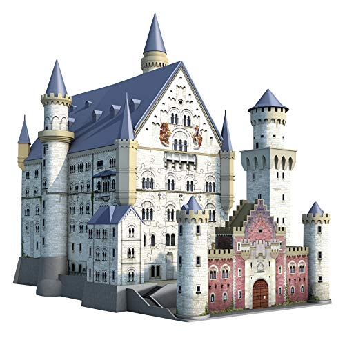 Ravensburger Italy Puzzle 3d Castello Di Neuschwanstein 216 Pezzi 12 Anni 125739 0 0