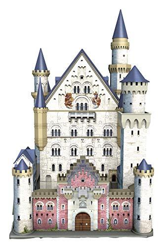 Ravensburger Italy Puzzle 3d Castello Di Neuschwanstein 216 Pezzi 12 Anni 125739 0 1