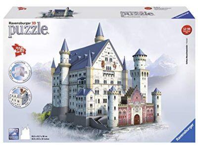 Ravensburger Italy Puzzle 3d Castello Di Neuschwanstein 216 Pezzi 12 Anni 125739 0