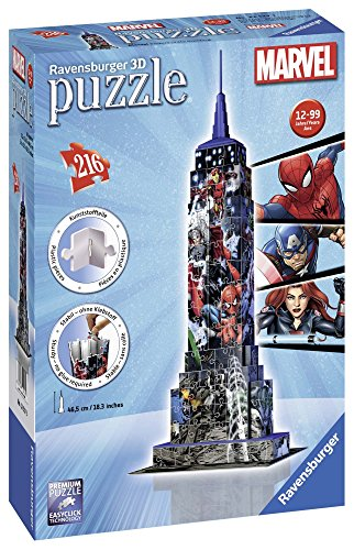 Ravensburger Italy Puzzle 3d Empire State Building Avengers 12517 3 0 0