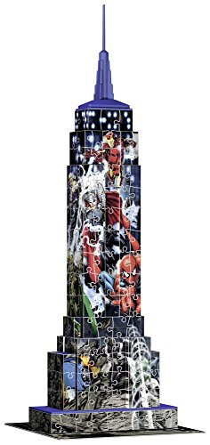 Ravensburger Italy Puzzle 3d Empire State Building Avengers 12517 3 0 1