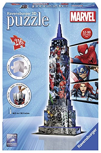 Ravensburger Italy Puzzle 3d Empire State Building Avengers 12517 3 0