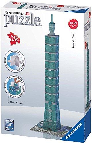 Ravensburger Italy Puzzle 3d Taipei Tower Taiwan 216 Pezzi 125586 0 0
