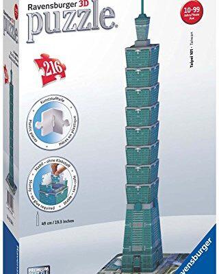 Ravensburger Italy Puzzle 3d Taipei Tower Taiwan 216 Pezzi 125586 0