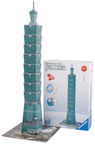 Ravensburger Italy Puzzle 3d Taipei Tower Taiwan 216 Pezzi 125586 0 4